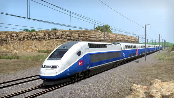 скриншот Train Simulator: LGV Rhône-Alpes & Méditerranée Route Extension Add-On 3