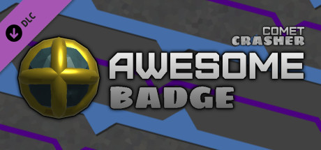 "Comet Crasher - Awesome Badge (""Buy Me Coffee"")"