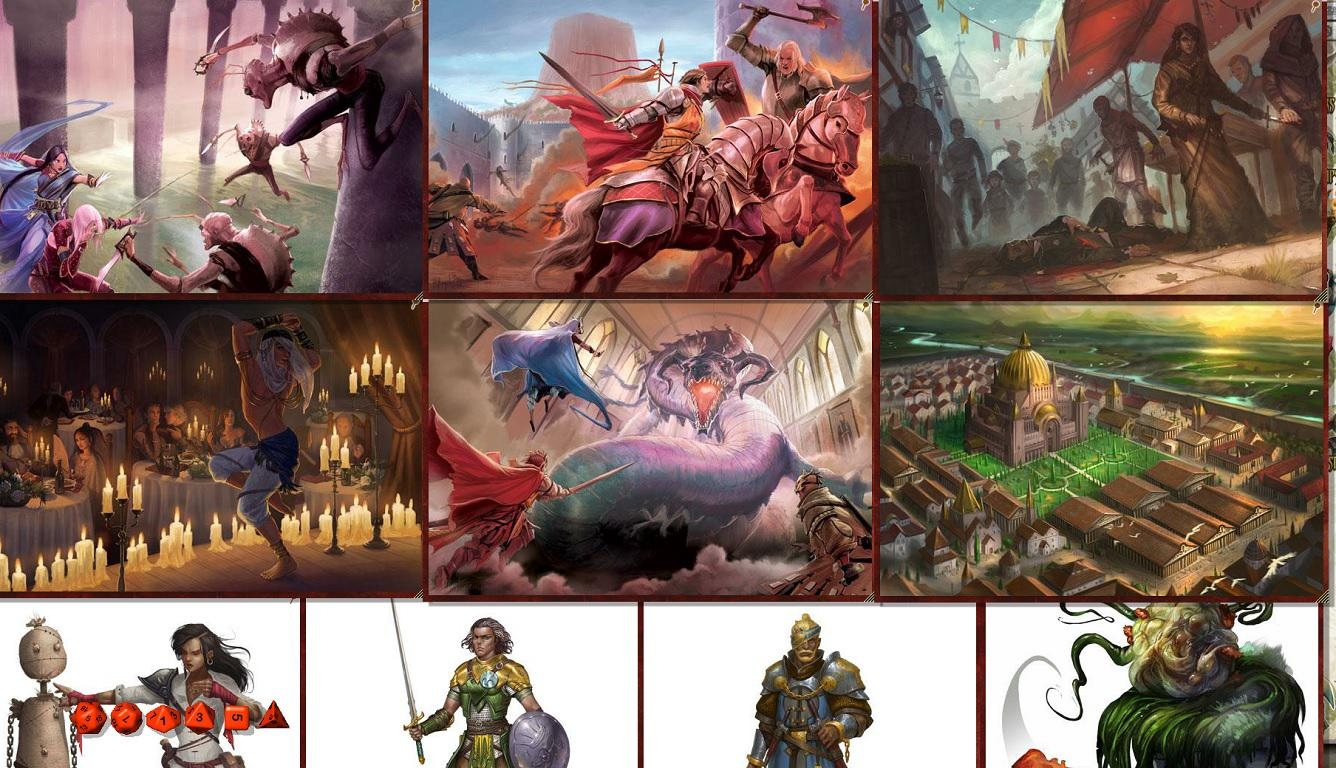 Fantasy Grounds - Pathfinder RPG - War for the Crown AP 4: City in the Lion's  Eye (PFRPG) on Steam