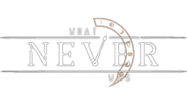 What Never Was logo
