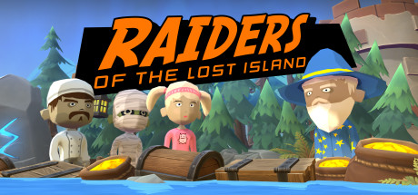 Raiders Of The Lost Island cover art