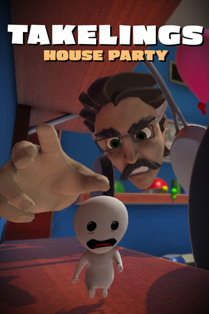Takelings House Party poster image on Steam Backlog