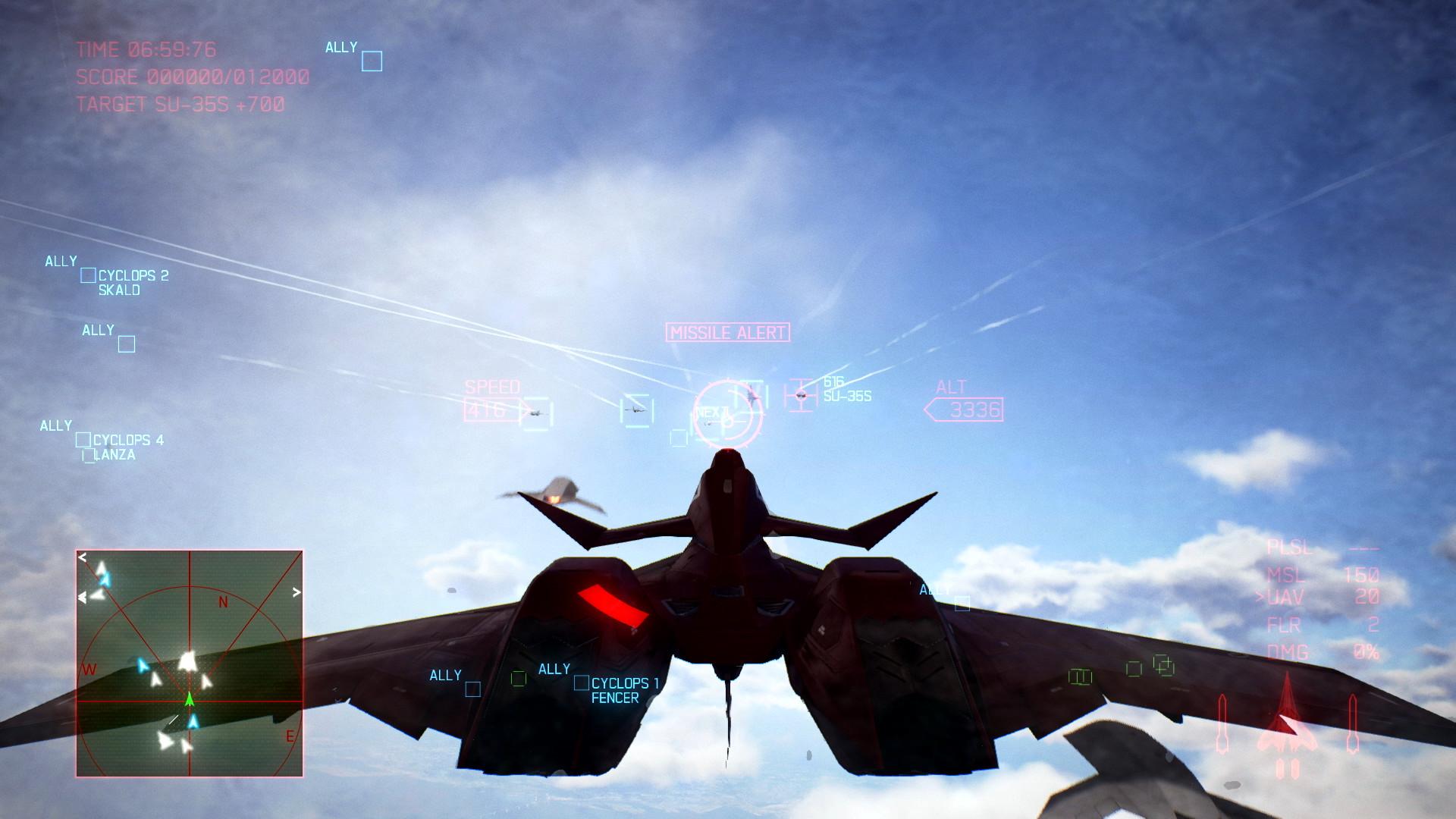 ACE COMBAT™ 7: SKIES UNKNOWN - ADF-11F Raven Set · AppID: 868310