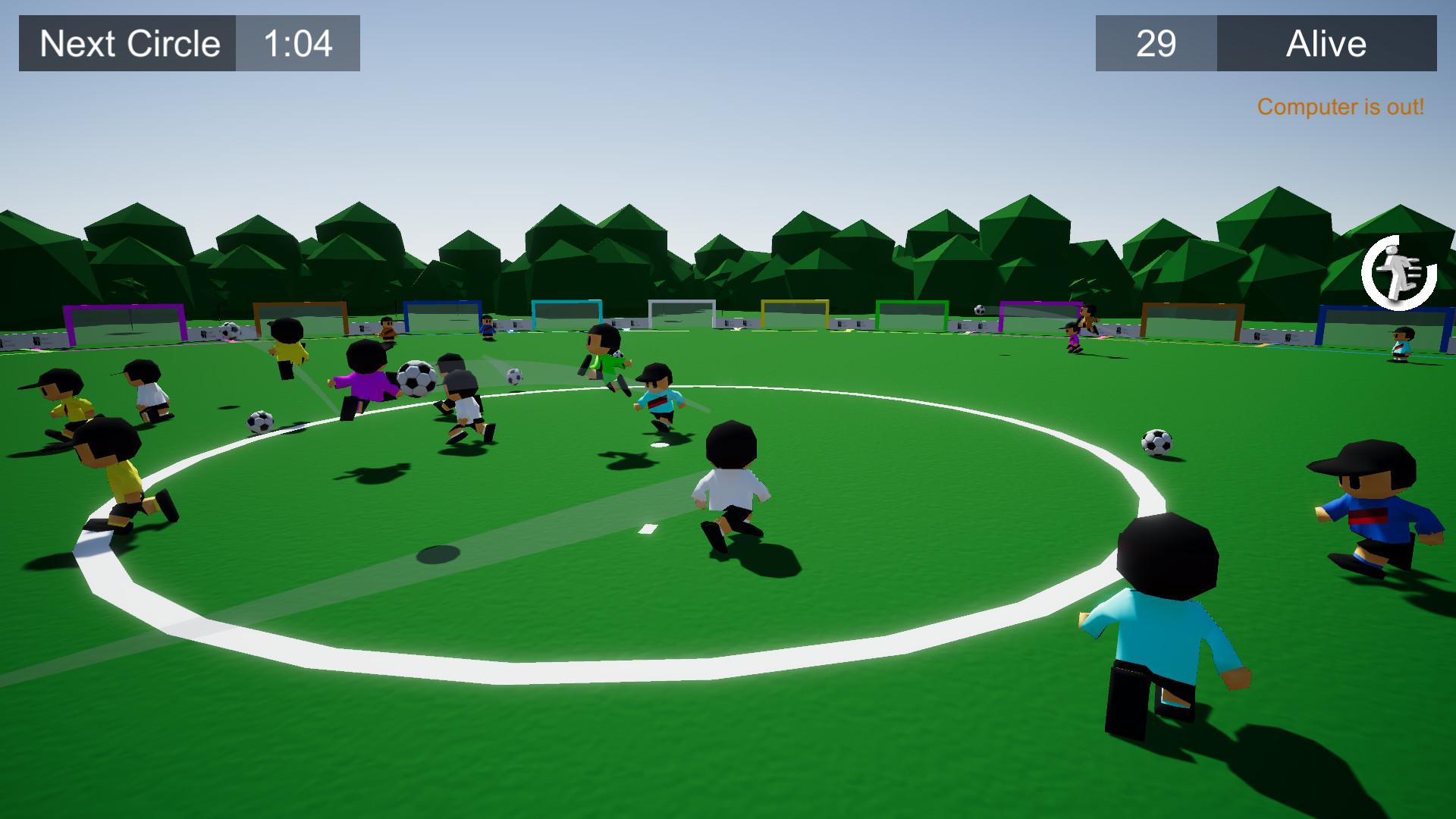 E Soccer Battle