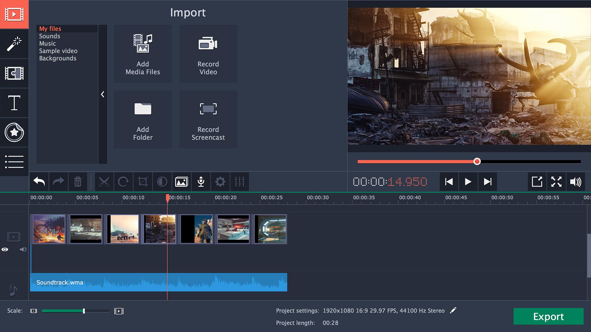 movavi video editor free download for windows 10