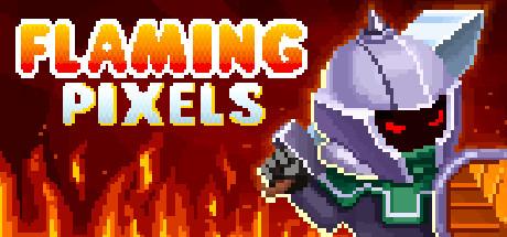 Flaming Pixels cover art