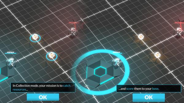 Screenshot of Gladiabots