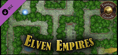 Fantasy Grounds - Paths to Adventure: Elven Empires (Map Pack)
