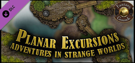 Fantasy Grounds - Paths to Adventure: Planar Excursions Map (Map Pack)