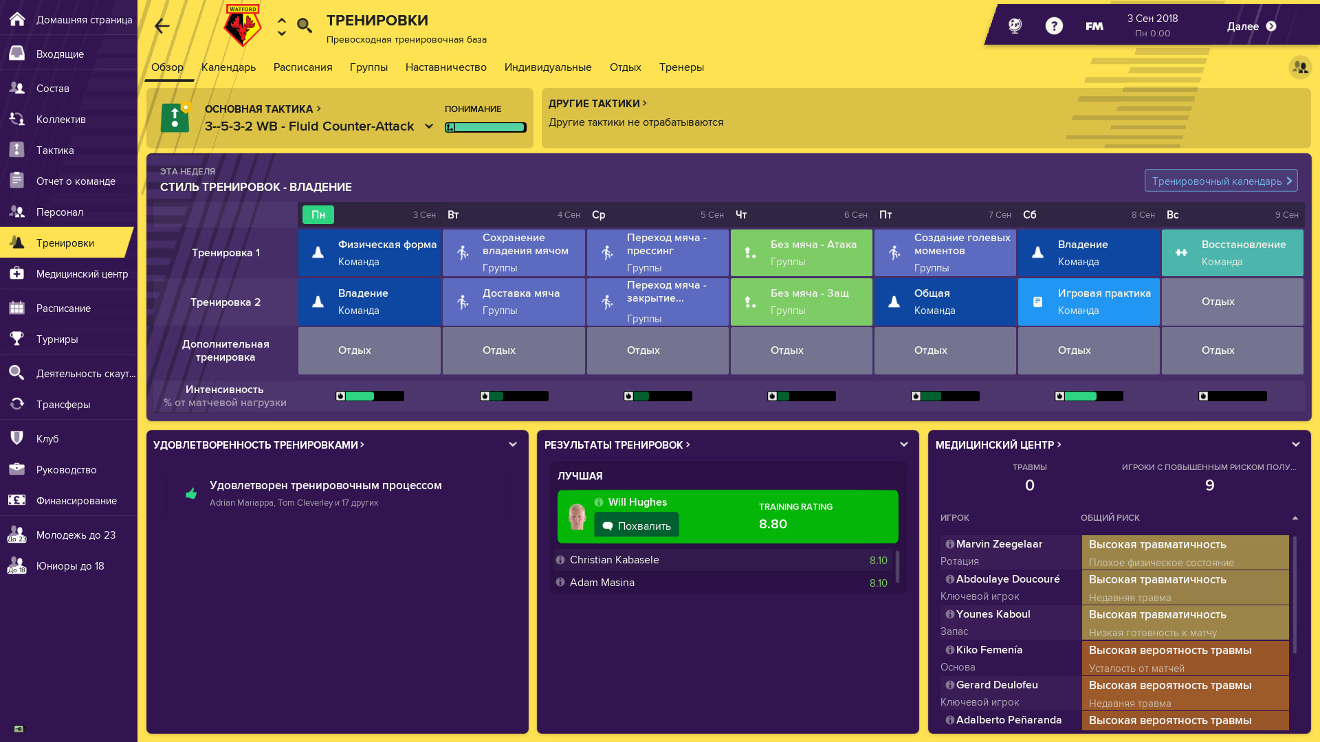 Football Manager 2019 [Steam-Rip] [2018|Rus|Eng]