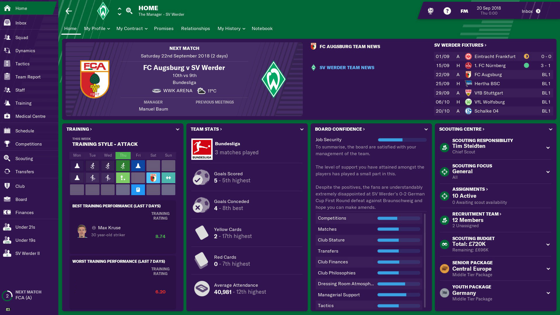 Football Manager 2019 · AppID: 872790