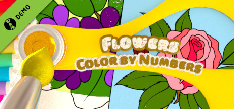 Color by Numbers - Flowers Demo