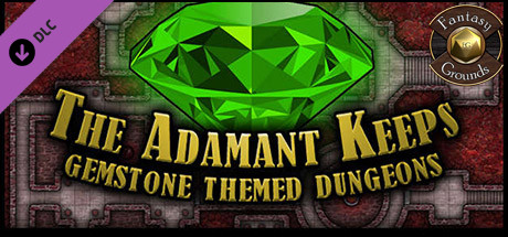 Fantasy Grounds - Paths to Adventure: The Adamant Keeps (Map Pack)