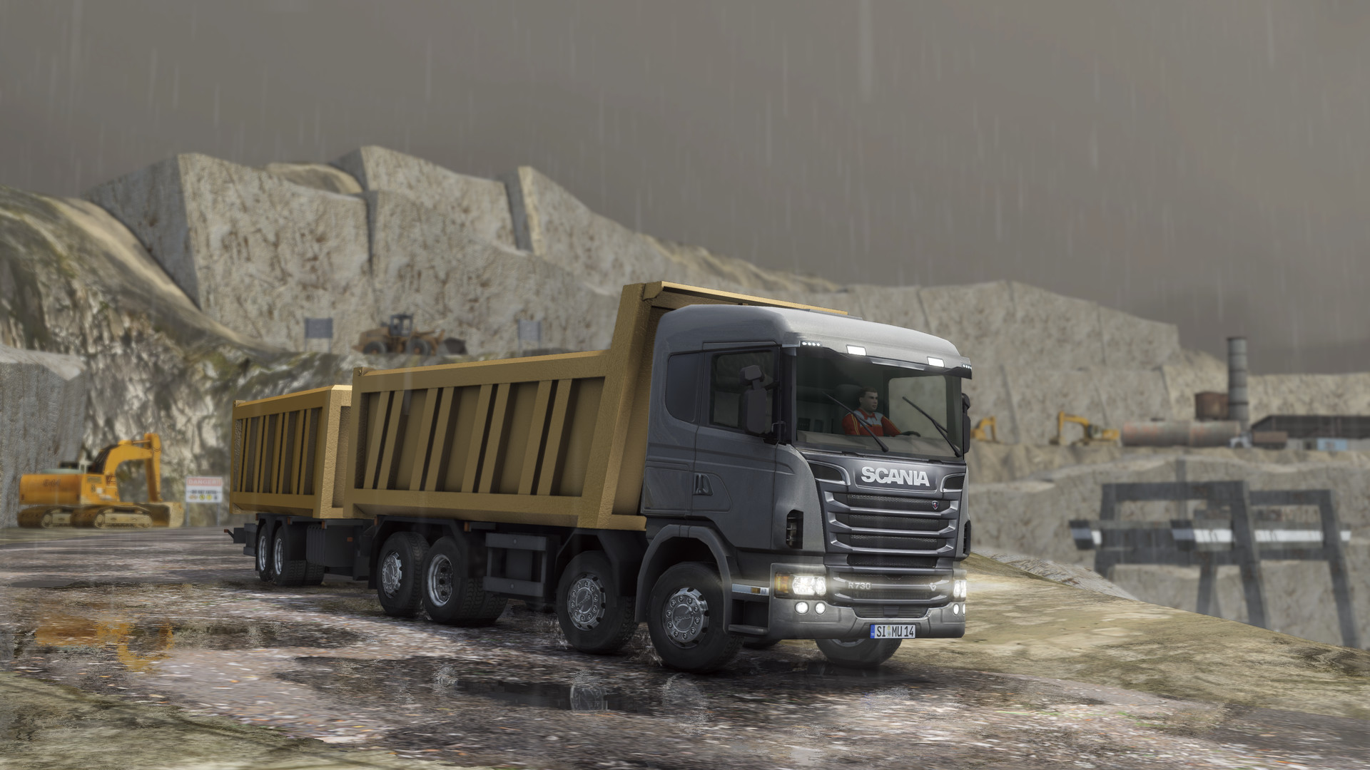 Truck and Logistics Simulator on Steam