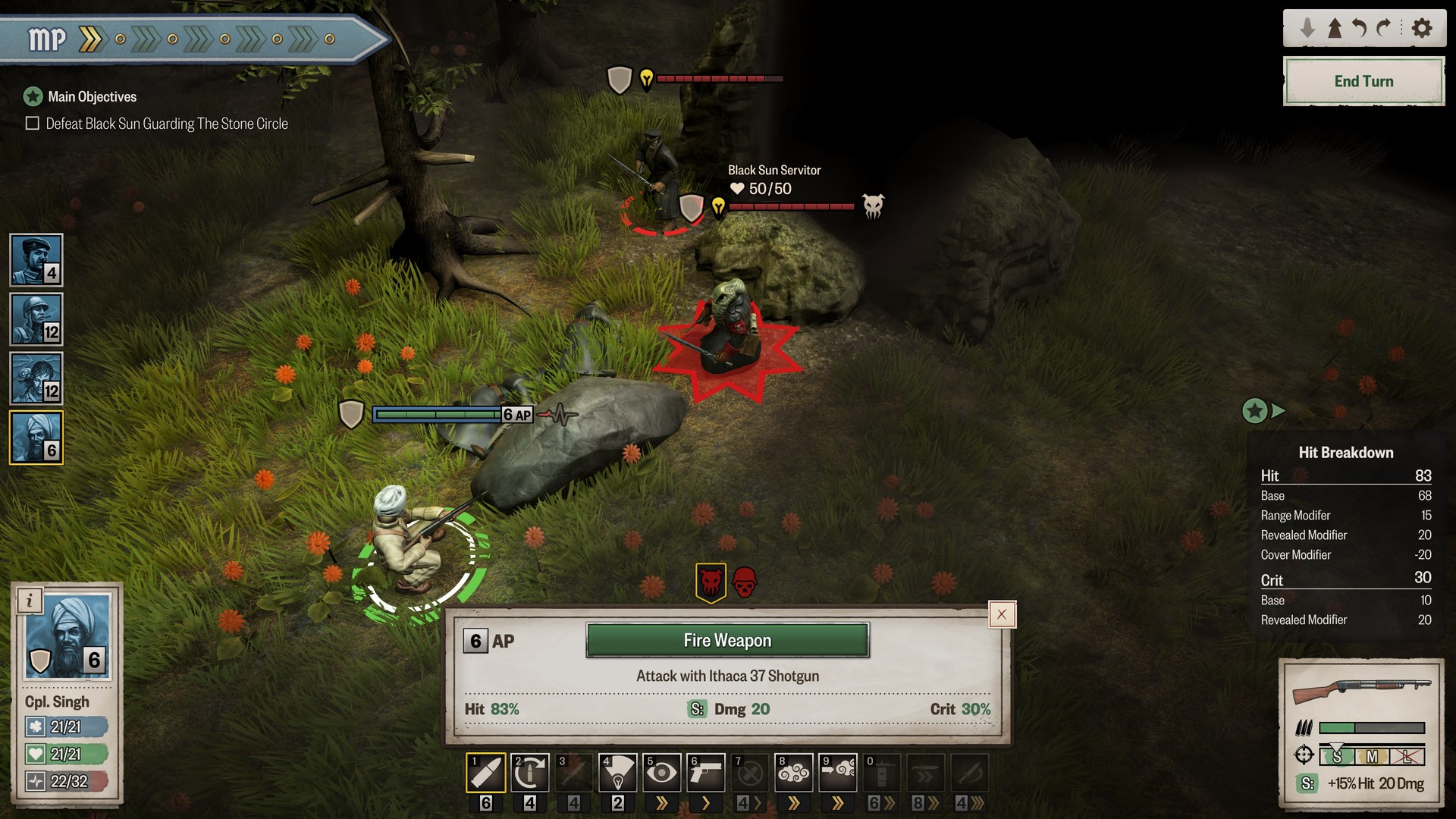 Achtung! Cthulhu Tactics Screenshot 2