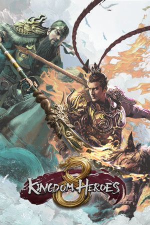 Heroes of the Three Kingdoms 8 poster image on Steam Backlog