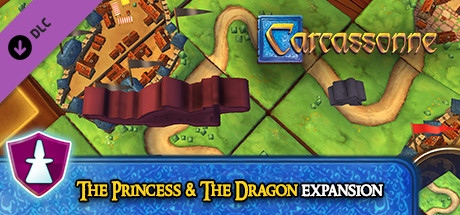 Image for Carcassonne - The Princess & the Dragon Expansion