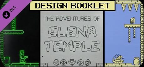 The Adventures of Elena Temple - Design Booklet