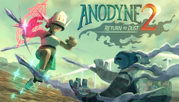 Anodyne 2 Return to Dust PS4 cover game