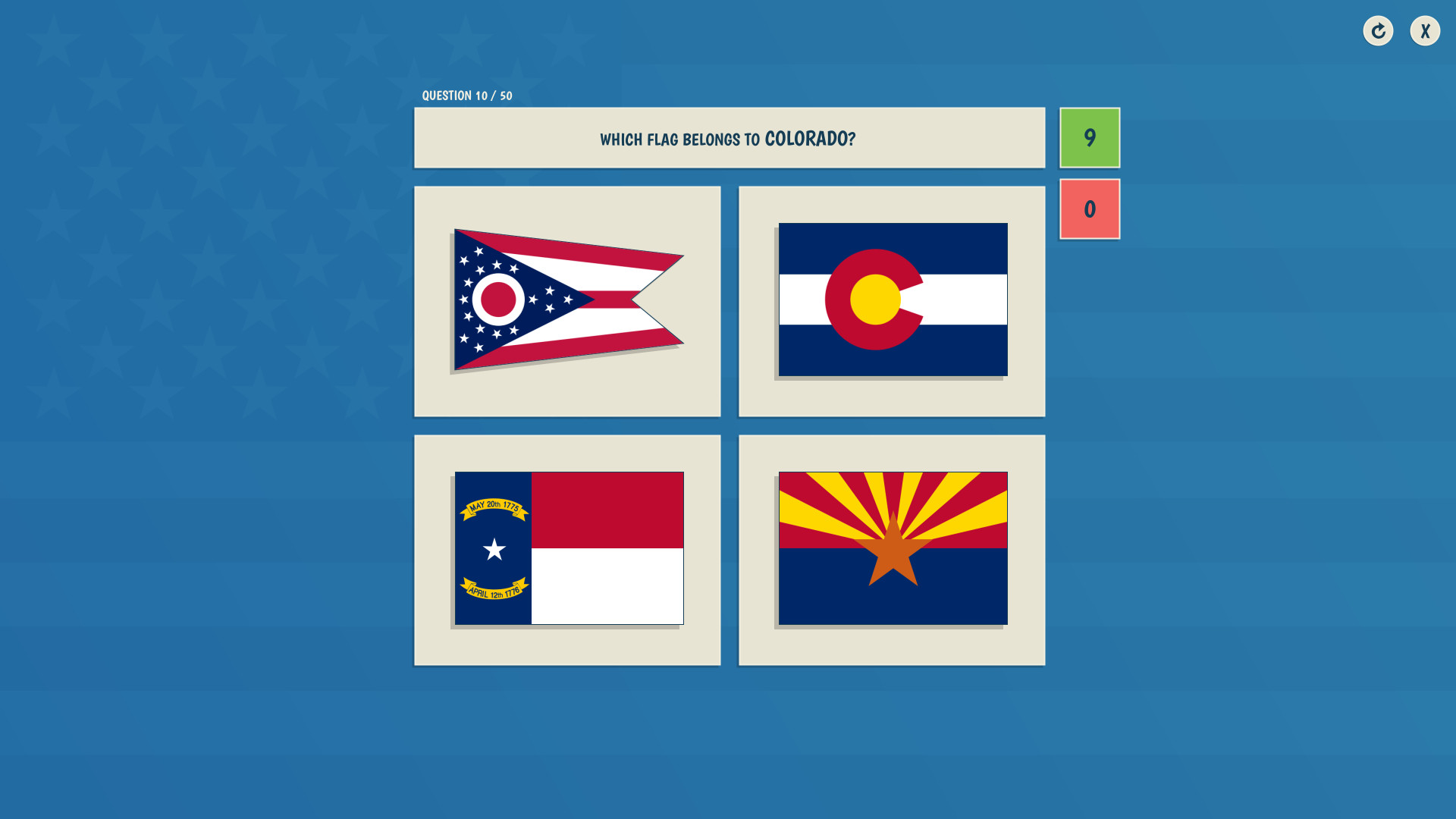 The 50 States Quiz on Steam  States Practice Game on