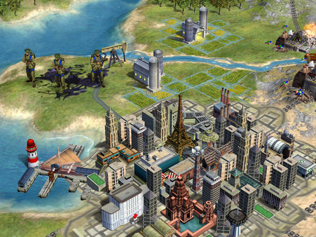 Screenshot of Sid Meier's Civilization IV: Beyond the Sword