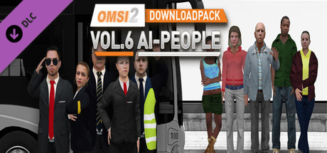 Купить OMSI 2 Add-on Downloadpack Vol. 6 - KI-Menschen (DLC)