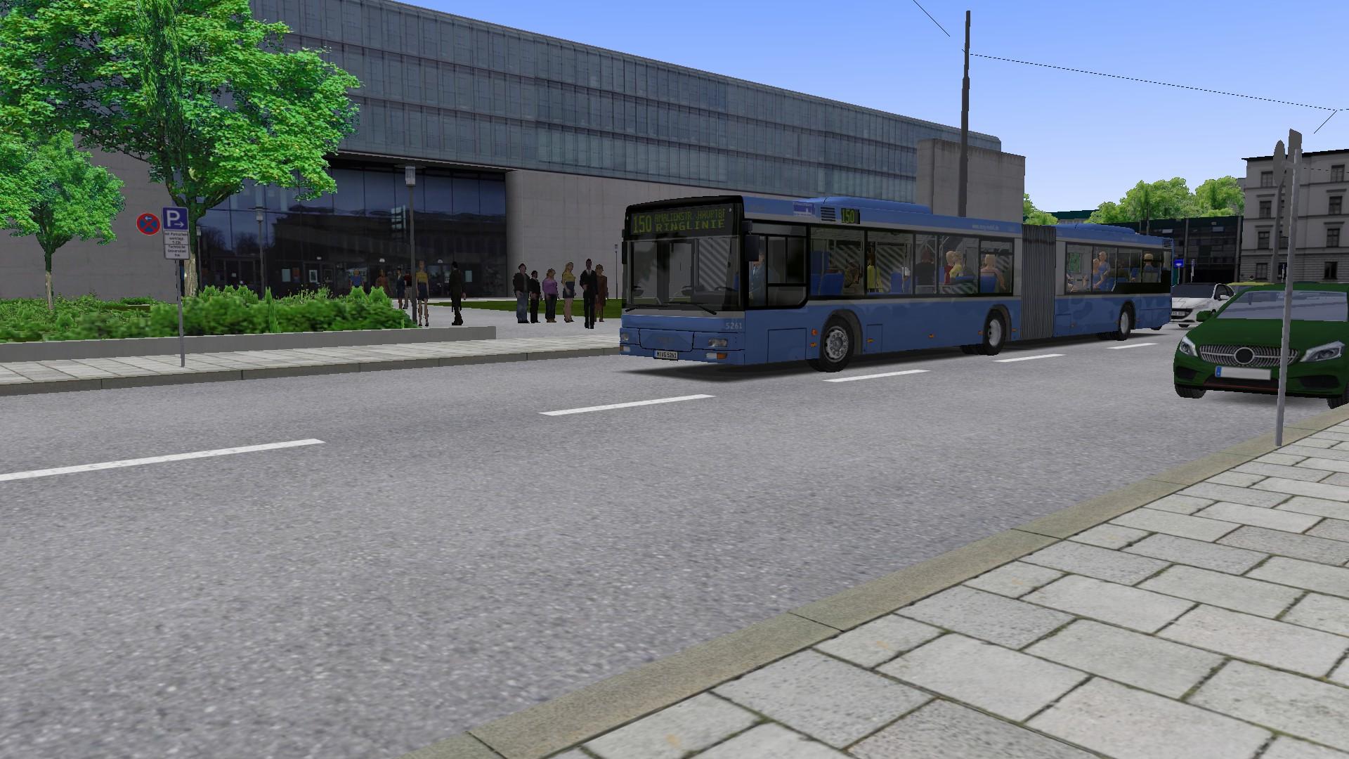 OMSI 2 Add-on München City - Demo on Steam