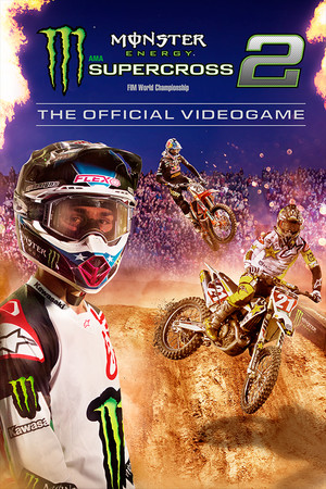 Monster Energy Supercross - The Official Videogame 2 poster image on Steam Backlog