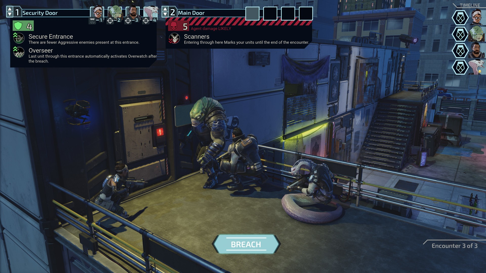 XCOM: Chimera Squad Screenshot 1