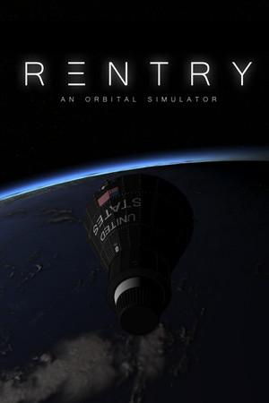 Reentry - An Orbital Simulator poster image on Steam Backlog