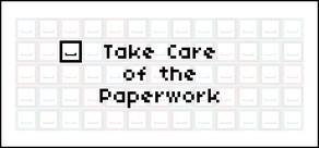 Take Care of the Paperwork cover art