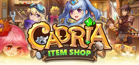 Cadria Item Shop is a casual simulation game with RPG elements. Craft  legendary items b9abc02c4207