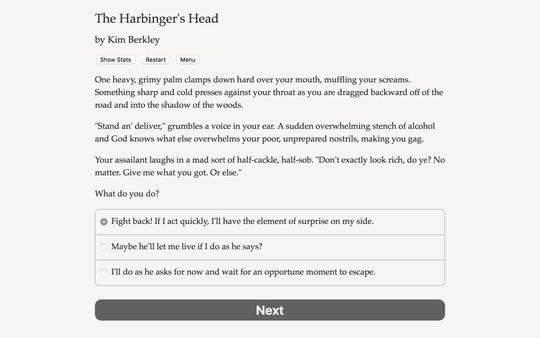 The Harbinger's Head 1