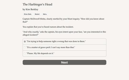 The Harbinger's Head 4