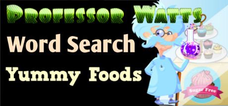 Professor Watts Word Search: Yummy Foods cover art