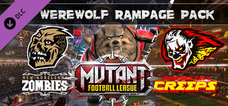 Mutant Football League - Werewolf Rampage Pack