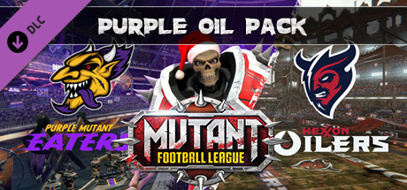 Mutant Football League - Purple Oil Pack