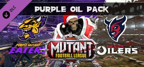 Mutant Football League – Purple Oil Pack Capa