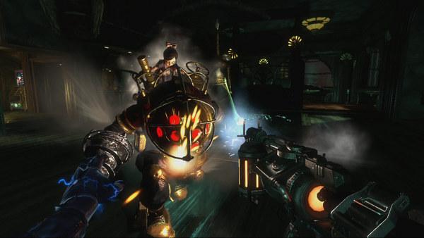 Скриншот из BioShock 2