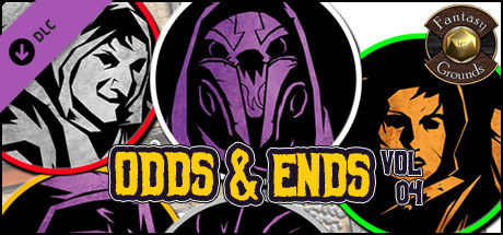 Fantasy Grounds - Odds and Ends, Volume 4 (Token Pack)