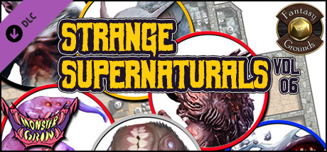 Fantasy Grounds - Strange Supernatural, Volume 6 (Token Pack)