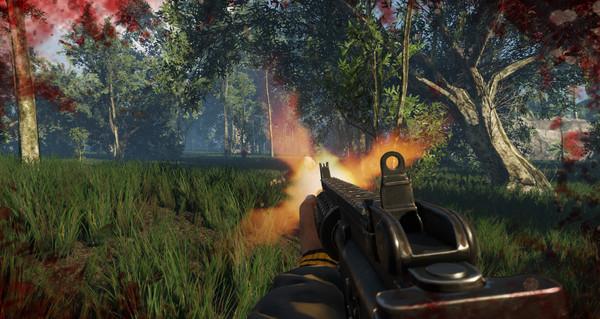 Скриншот из The Island Combat