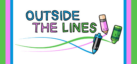 Outside The Lines Is A Free Top Down Shooter Where Drawing Utensils Compete To Cover Coloring Book With Their Color