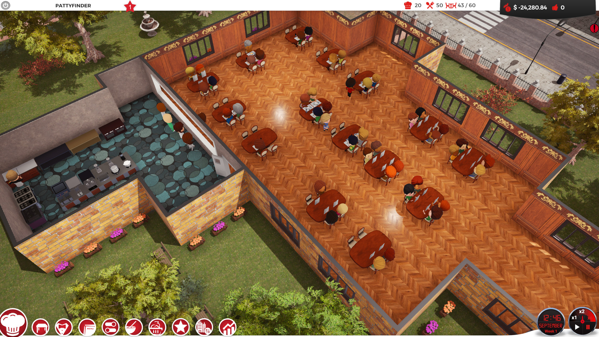 Chef A Restaurant Tycoon Game - codes for restaurant tycoon 2 roblox 2019