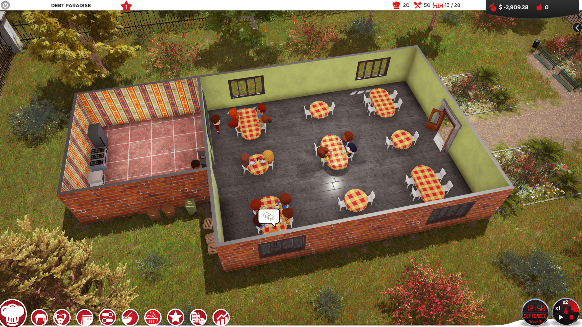 game cooking tycoon hack apk