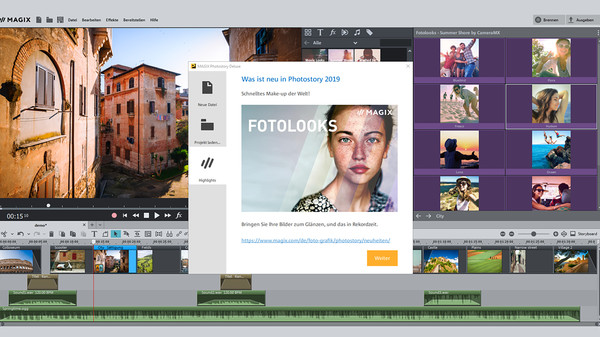 MAGIX Photostory 2019 Deluxe Steam Edition