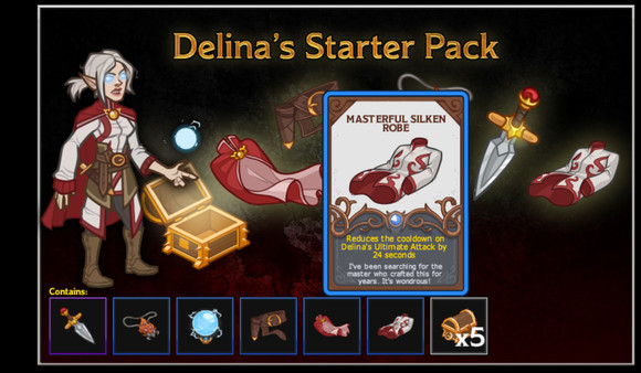 Idle Champions - Delina's Starter Pack (DLC)