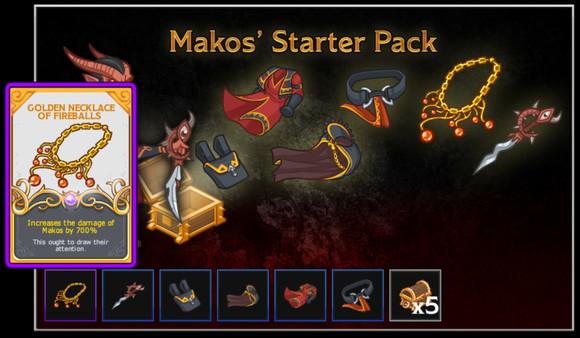 Idle Champions - Makos' Starter Pack (DLC)