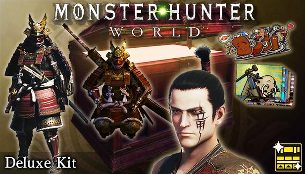 male monster hunter armor sets