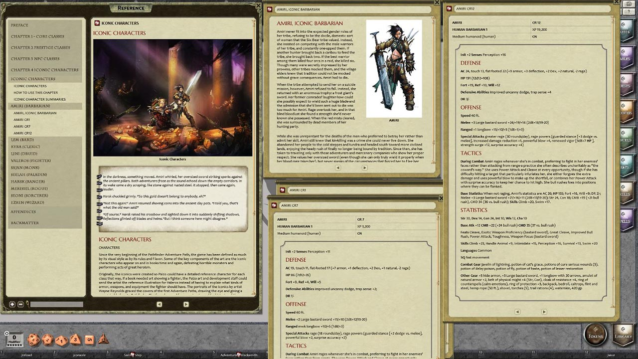Codex pathfinder pdf npc rpg